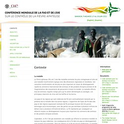 OIE - JUIN 2012 - Conférence mondiale de la FAO et de l'OIE sur le contrôle de la fièvre aphteuse