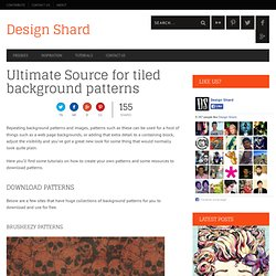 background patterns and tiled background patterns
