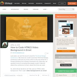 How to Code HTML5 Video Background in Email - Litmus BlogLitmus Blog
