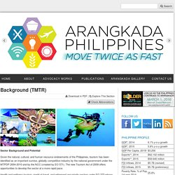 Background (TMTR) - Arangkada Philippines