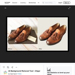 AI Background Removal Tool : Clippr by Clippr Spyne
