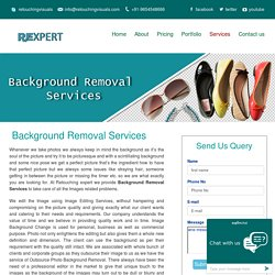 Low Cost Background Removal Services USA