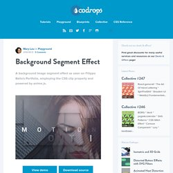 Background Segment Effect