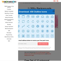 200+ Backgrounds Freebies from Dribbble