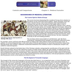 Medieval Narrative: Backgrounds of Medieval Literature