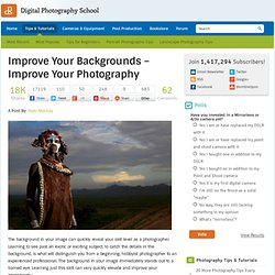 Improve Your Backgrounds - Improve Your Photography