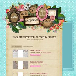 Shabby Blogs - Backgrounds - Free two column shabby chic blog templates with a twist of scrapbooking style!