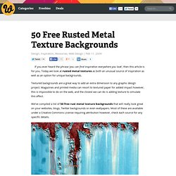 50 Free Rusted Metal Texture Backgrounds