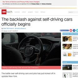 Uber's Self Driving Trials Provoke Backlash