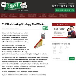 THE Backlinking Strategy That Works