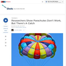 Is A Backpack As Good As A Parachute When Jumping Out Of A Plane? : Shots - H...