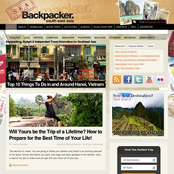 S.E.A. Backpacker mag