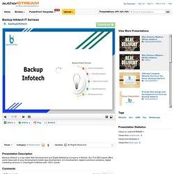 Backup Infotech it Services