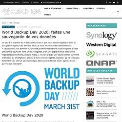 World Backup Day 2020, faites une sauvegarde de vos données