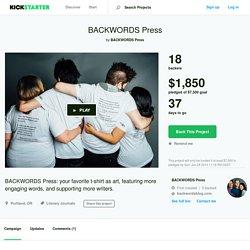 BACKWORDS Press by BACKWORDS Press