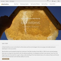 backyardhive.com - BackYardHive.com - Top Bar Hive, Beekeeping DVD