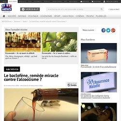 Le baclofène, remède miracle contre l'alcoolisme ? - Sciences