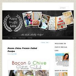 Bacon Chive Potato Salad Recipe