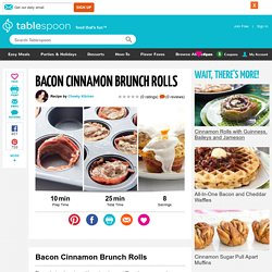 Bacon Cinnamon Brunch Rolls recipe
