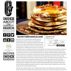 Bacon n' Beer Griddle Cakes