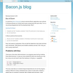 Bacon.js blog: Bus of Doom