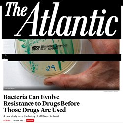 Bacteria Can Evolve Resistance to Drugs Before Those Drugs Are Used