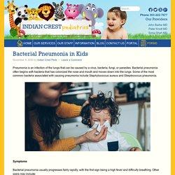 Bacterial Pneumonia in Kids