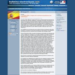2009/06/29> BE Espagne83> Le système SOS, à l'origine de la résistance bactérienne aux antibiotiques