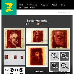 Zachary Copfer - Bacteriography - ArtPrize Entry Profile - A radically open art contest, Grand Rapids Michigan