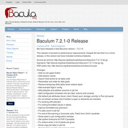 Baculum 7.2.1-0 Release