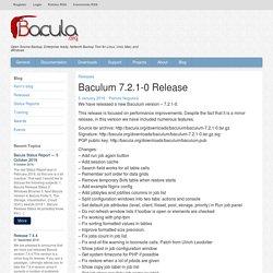 Baculum 7.2.1-0 Release