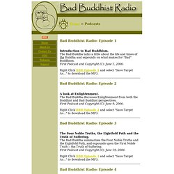 Bad Buddhist Radio
