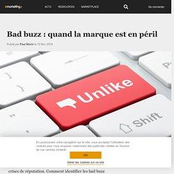 Bad buzz : quand la marque est en péril