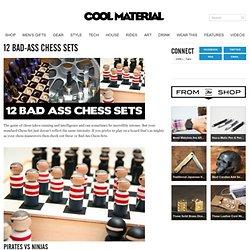 12 Bad-Ass Chess Sets