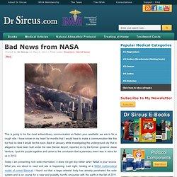 Bad Nouvelles de la NASA | Blog Dr. Marc
