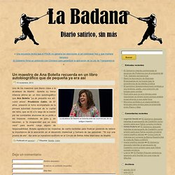 la badana. blog satirico