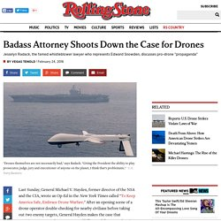 Badass Attorney Shoots Down the Case for Drones