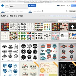 Badge Vectors, Photos and PSD files