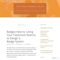The ForallRubrics Blog