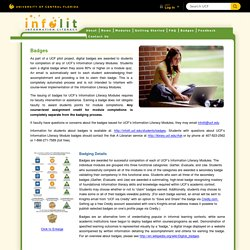Badges – Information Literacy