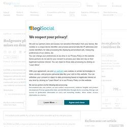 Badgeuses photo : la CNIL a prononcé des mises en demeure LégiSocial