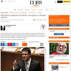 Valls, Bianco, Badinter et la laïcité : ma réponse au Premier ministre