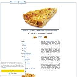 Badischer Zwiebel Kuchen Rezept