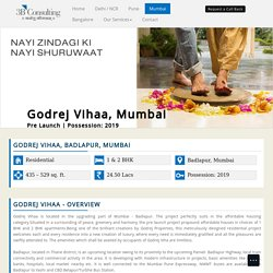 Godrej Vihaa Badlapur Mumbai – New Housing Project