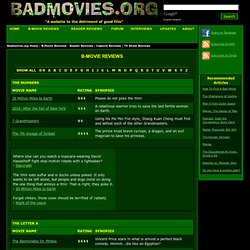 B-Movie Reviews