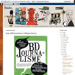 Expo «BD Journalisme» à Morges (Suisse)