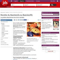 Recette du Baeckeoffe ou Baeckeofa, la potée alsacienne aux 3 viandes