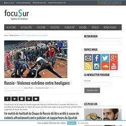 Vidéo Bagarre en Russie entre hooligans du Spartak Moscou et ceux du Shinnik