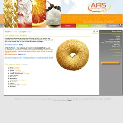 Bagels Les surgelés - Afis International Foods