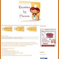 """Recette des """"baghrirs"""" , Crêpes mille trous"""